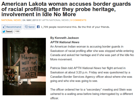 Patricia-stein-lakota-cbsa-tahir-revolutionary-saskatoon-aptn