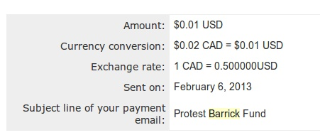 sakura-saunders-protest-barrick-paypal-us-dollar-account
