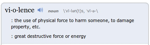 merriam-webster-violence-dictionary