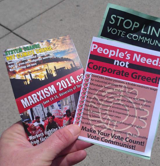 Stop Line 9: Vote Communist!