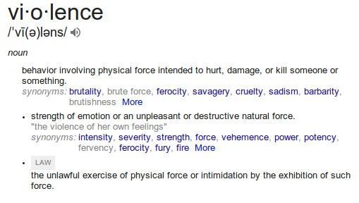 violence-definition