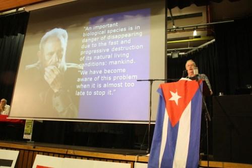 Ian Angus adores Fidel Castro...