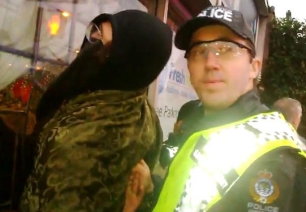 Anarcho-kiddie gets arrested in Vancouver...