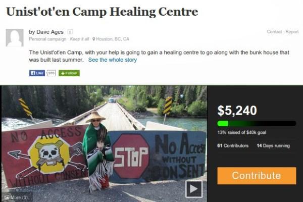 unistoten-camp-healing-centre-fundraiser