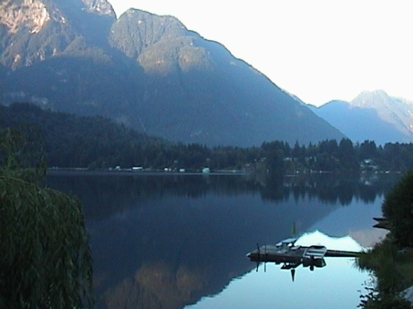 Kawaka Lake, source of Nestlé's water...