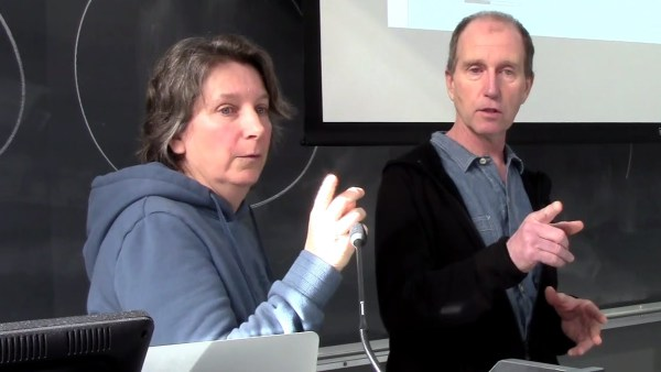 Bonnie Glambeck and Dan Lewis of Clayoquot Action