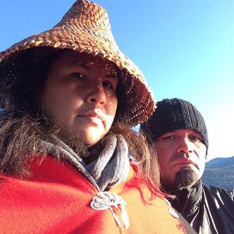 Sacheen Pointe & Joe John Rampanen of Ancestral Pride