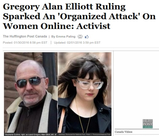 And the attack against Elliott isn't organized by her friends?