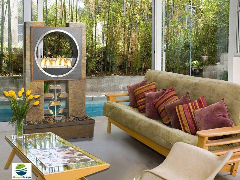 Designer Brunnen Schmückt Garten Und Wohnung Genuss De