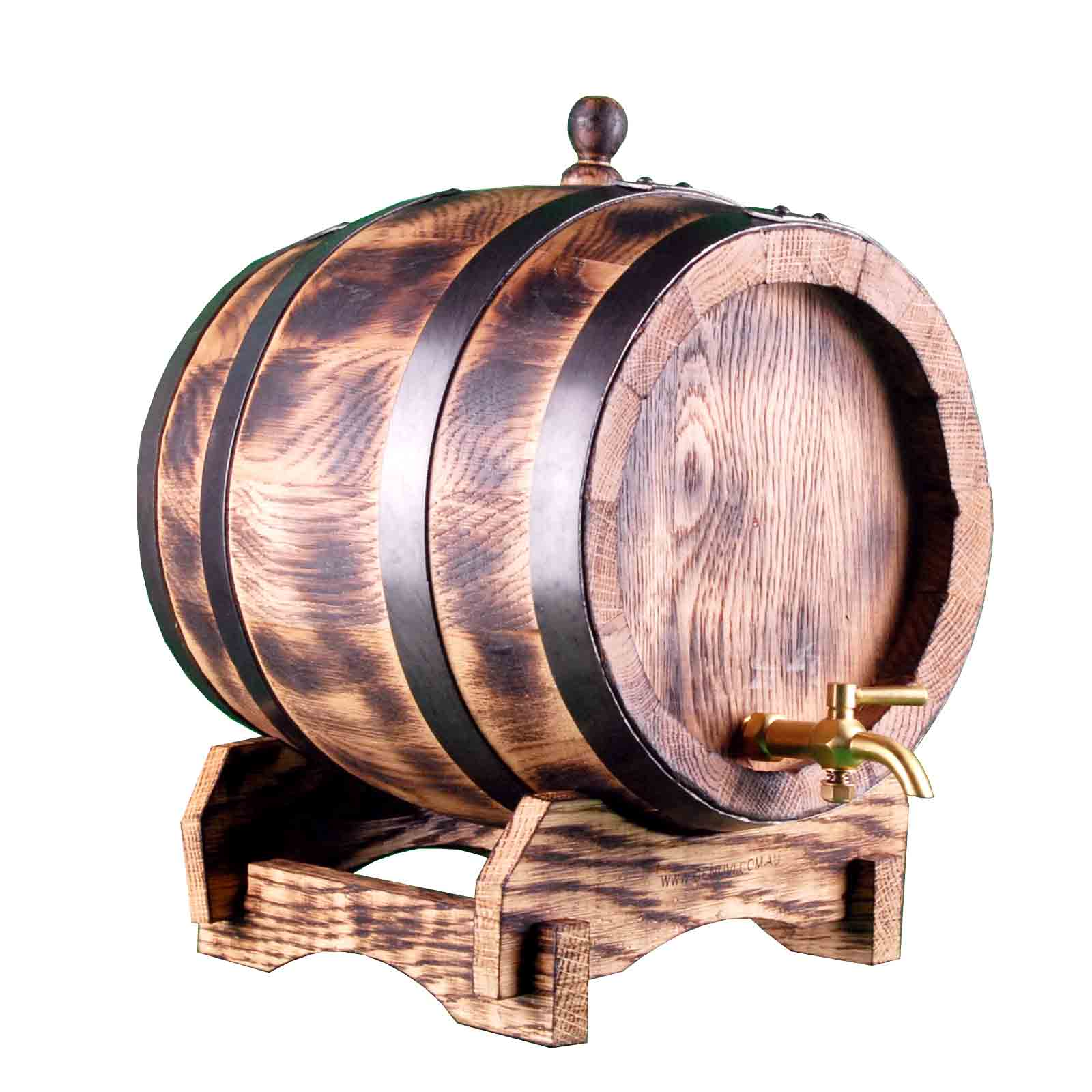 Oak Barrel 5 Litre Rustic Genuvi