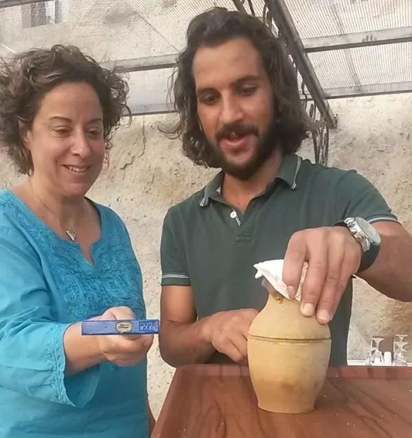 breaking the Kebab pot