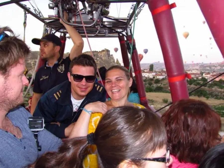 Hotair Balloons ride in Cappadocia