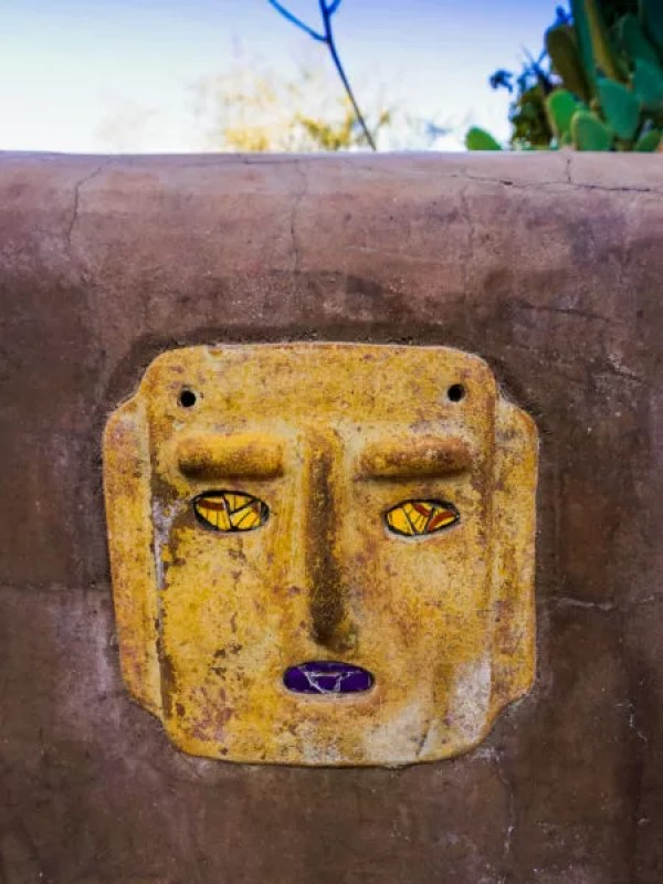 Faces in the stone