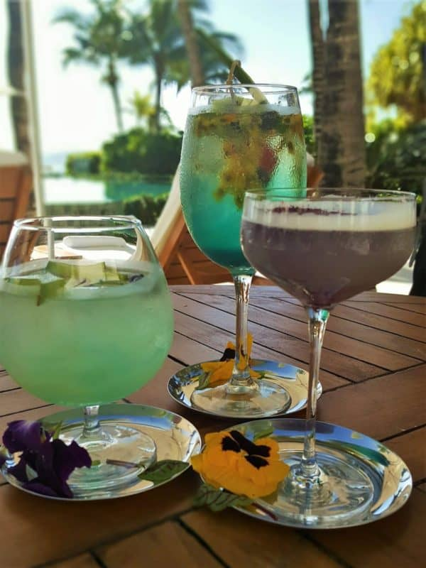 Grand Velas Cocktails