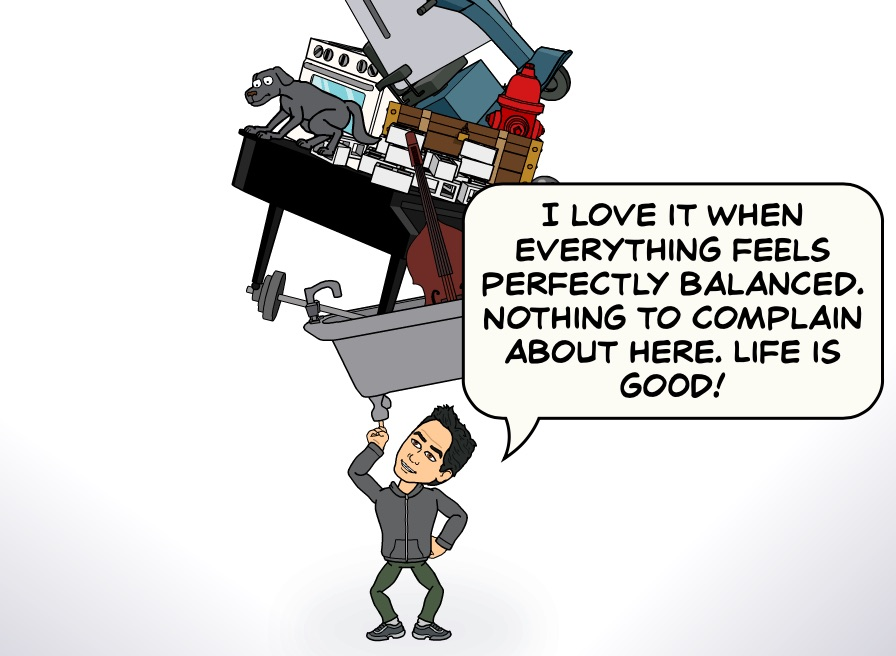 When Everything Feels Balanced