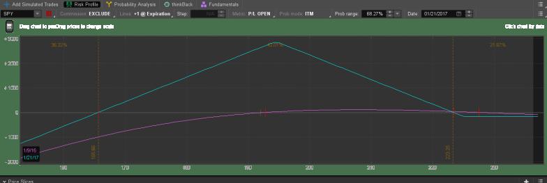 SPY Option Risk Profile