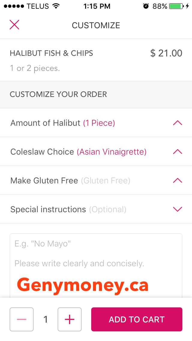 foodora toronto coupon code