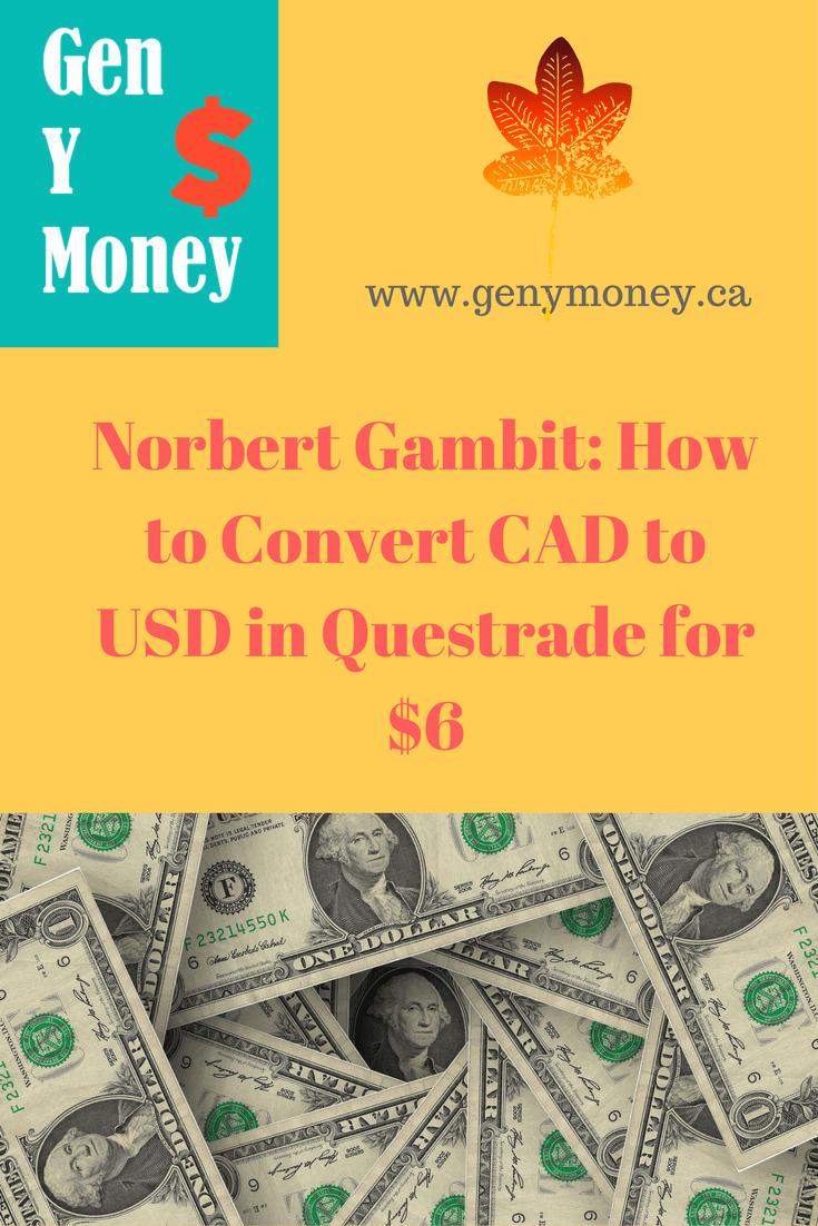 Convert Canadian Dollars To Us Dollars