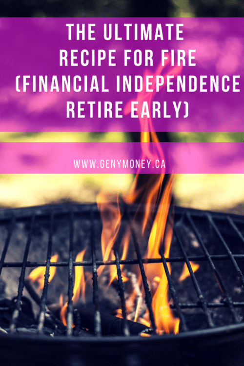 The Ultimate Recipe for FIRE (Financial Independence Retire