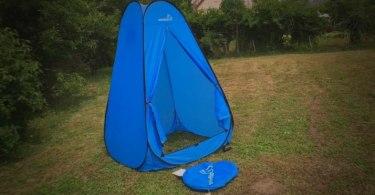 Choisir la meilleure tente de douche et toilettes camping