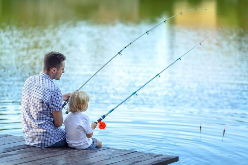 pêche équipement filet camouflage