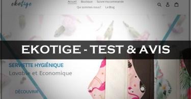 Ekotige - Test & Avis