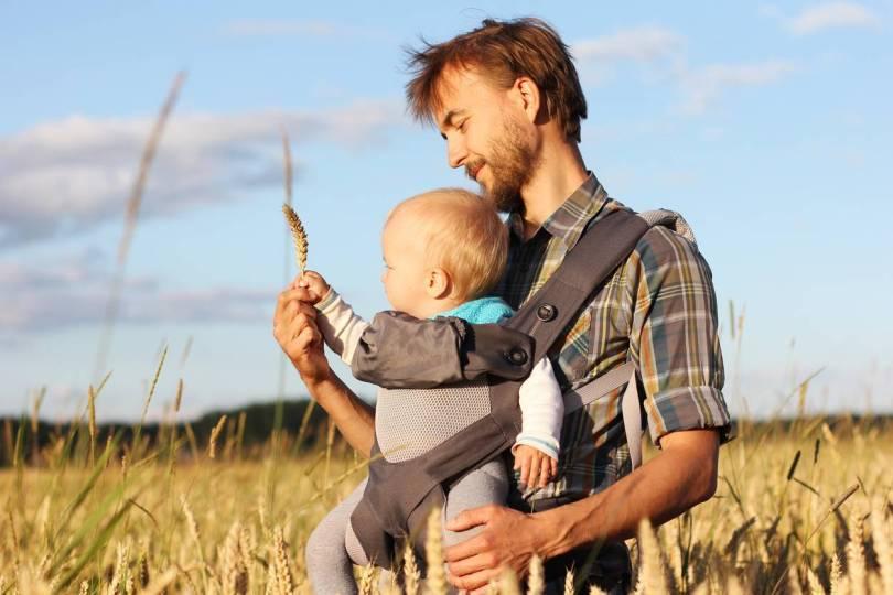 porte bébé et randonnée