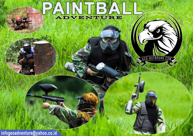 paket Harga PAINTBALL ADVENTURE