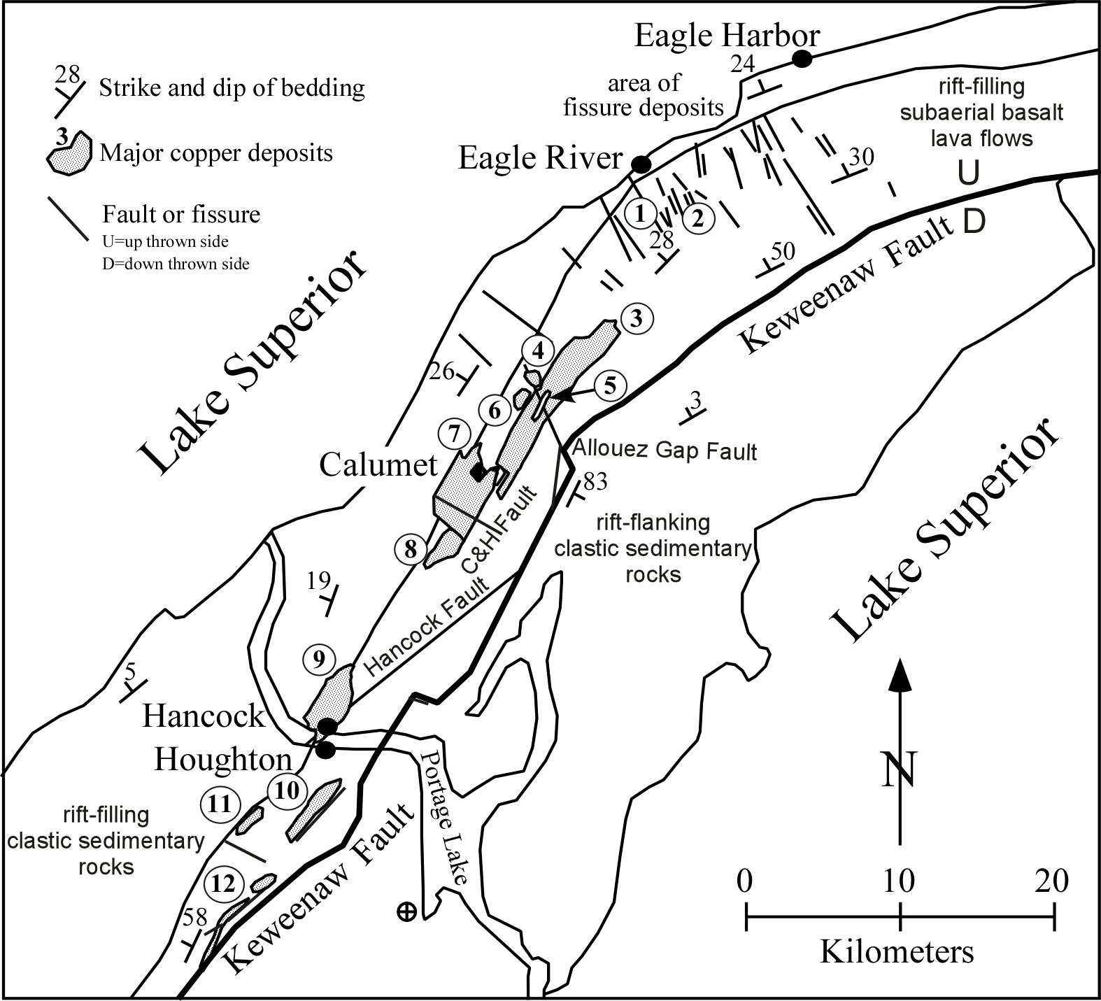 Gc3t6z0 Pilgrim River Fault Earthcache In Michigan