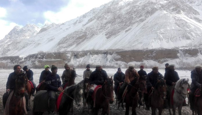 Buzkashi, once seen as a key test of virility, is now struggling for survival/AFP