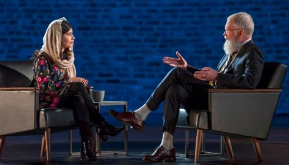 Image result for My Next Guest Needs No Introduction withDavid Letterman: Malala Yousafzai