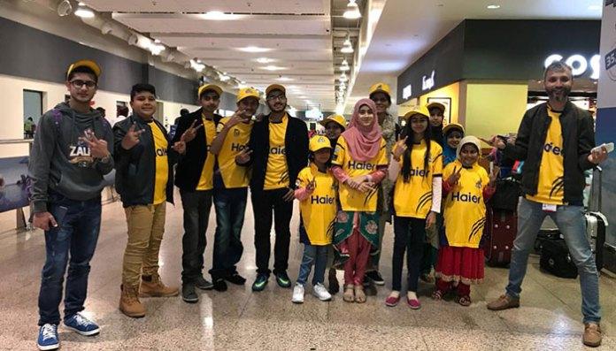Zalmi invite young Shaukat Khanum patients to watch PSL in Dubai   Zalmi invite young Shaukat Khanum patients to watch PSL in Dubai   182951 1430091 updates