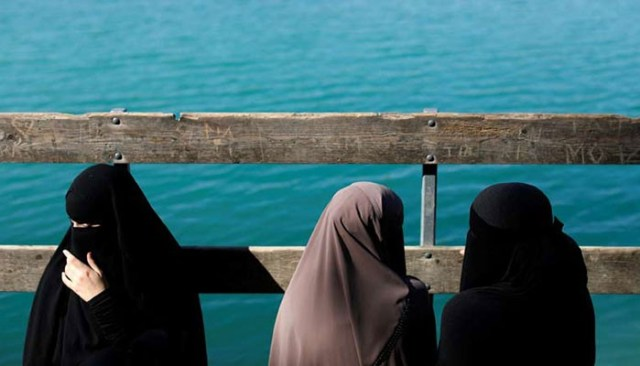 Image result for Danish Muslim women to protest veil ban across country