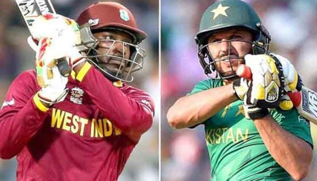 Image result for Shahid Afridi challenges Chris Gayle for a six-hitting contest