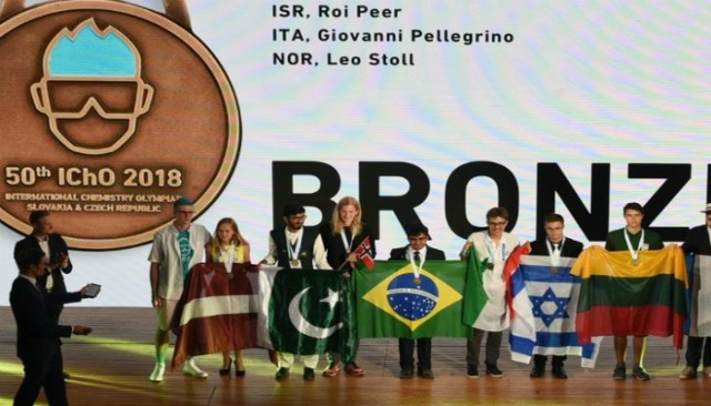 Image result for Pakistani student clinches bronze in International Chemistry Olympiad