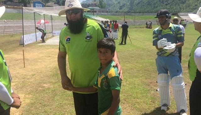Image result for 13-year-old ambidextrous bowler impresses at Muzaffarabad trials