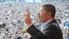 Image result for Morsi fainted
