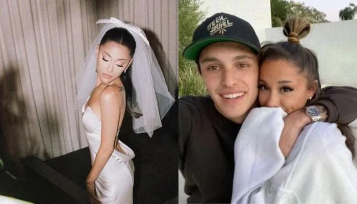 352019 6018666 updates Ariana Grande gives insight into wedding to Dalton Gomez