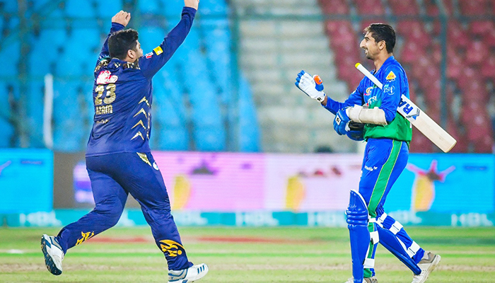 PSL 2021: Quetta Gladiators opt to field first against Multan Sultans
