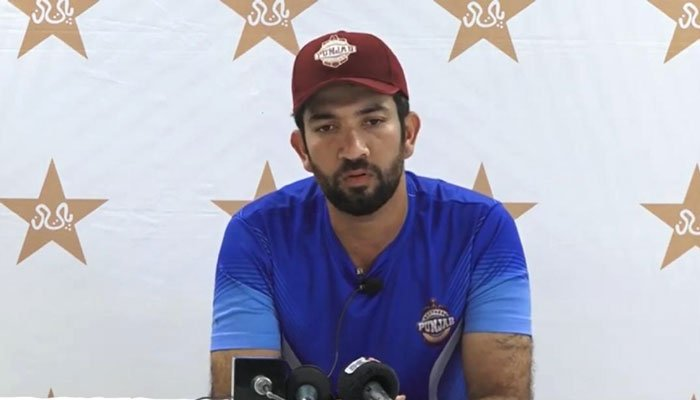Sohaib Maqsod during a recent press conference. Photo: File