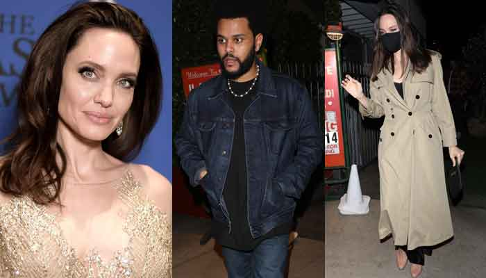 Angelina Jolie and The Weeknd spark romance rumours as they enjoy night out in LA