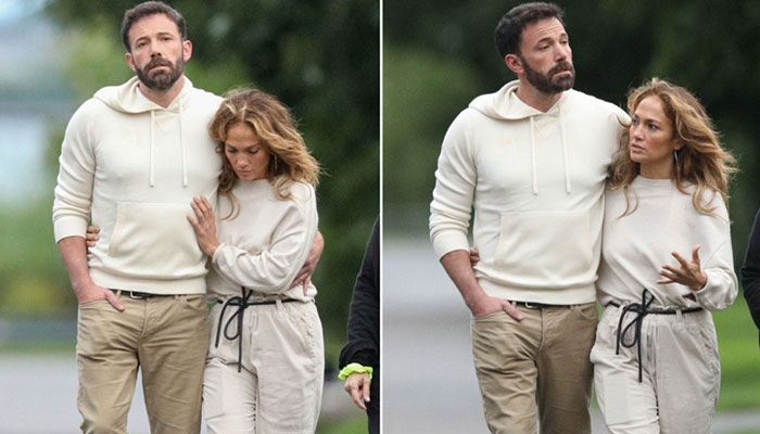 358395 8289038 updates Jennifer Lopez, Ben Affleck spotted going on stroll in the Hamptons