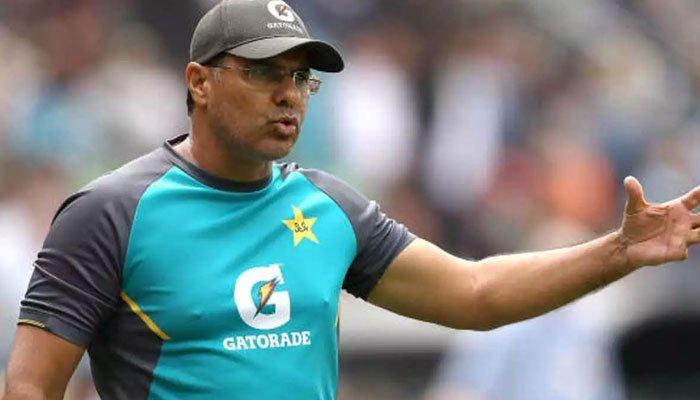 Bowling coach Waqar Younis