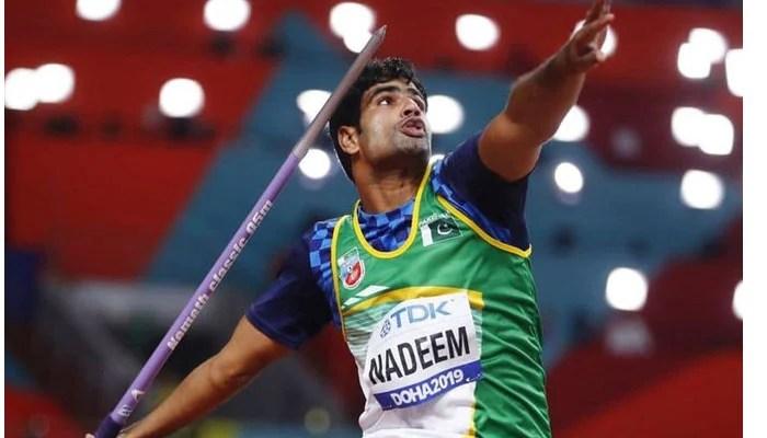 Pakistan's star javelin thrower Arshad Nadeem.