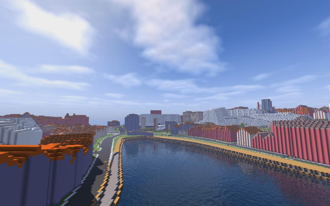 Stavanger in Minecraft