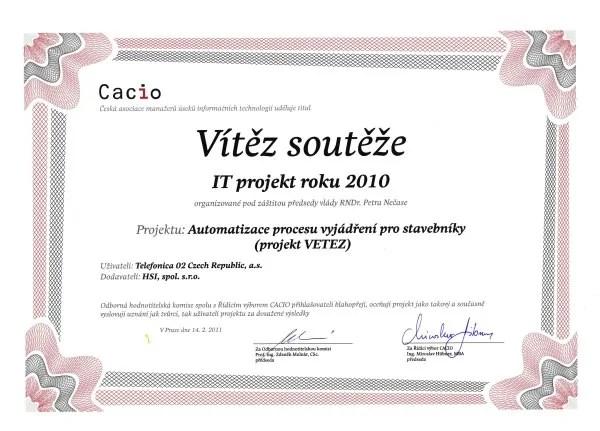 cacio-it-projekt-roku-2010-vitez-diplom