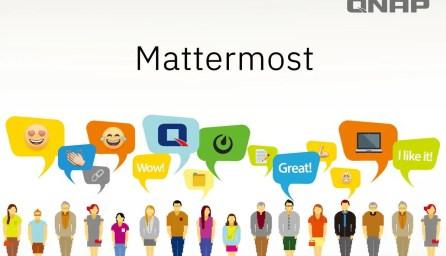 Mattermost QNAP appka / GeoBusiness