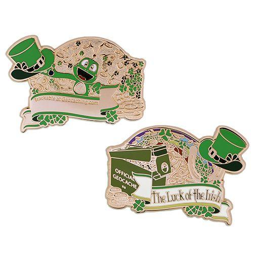 Luck of Irish geocoin