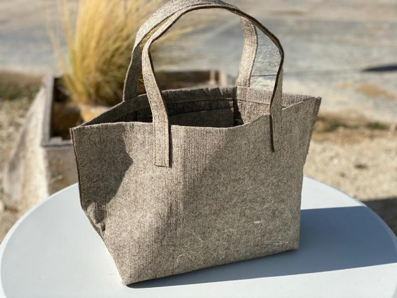 Sac Cabas de plage Géochanvre Made in France écoresponsable