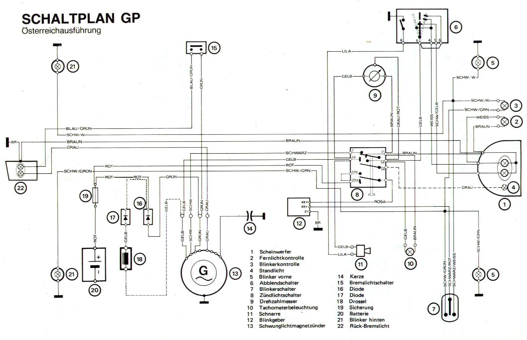 [DIAGRAM] Ducati Monza Wiring Diagram FULL Version HD